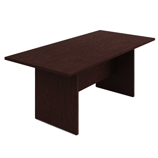 6′ Conference Table - Mahogany