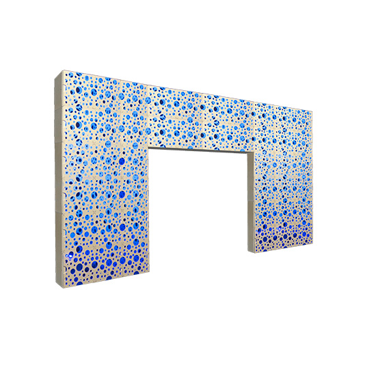 Style Tyles Entryway - Bubble Double