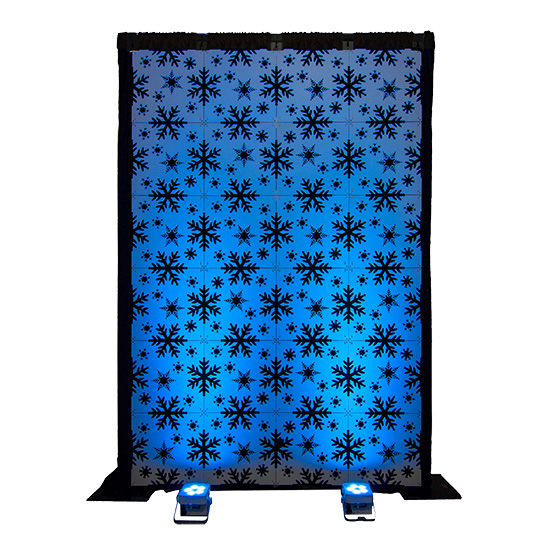 Style Tyles Wall - Snowflake