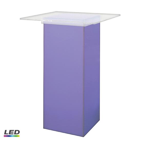 Charmant LED Acrylic High Top Table
