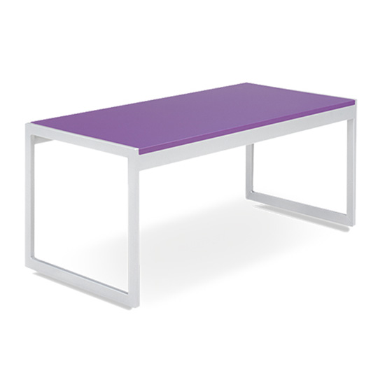 Aria Cocktail Table - Purple
