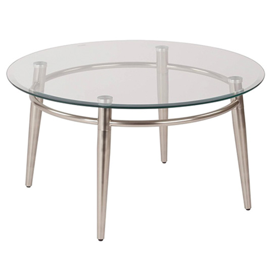 Brooklyn Round Cocktail Table
