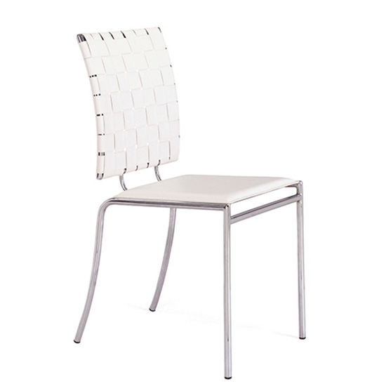 Criss Cross Chair - White