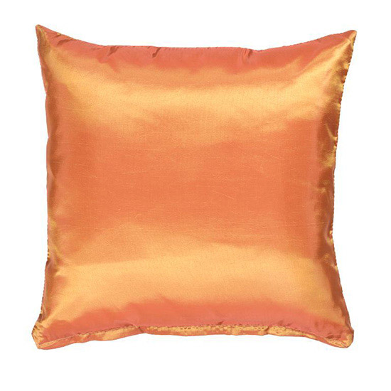 Fiery Orange Pillow