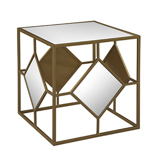 Oro Mirrored Cube