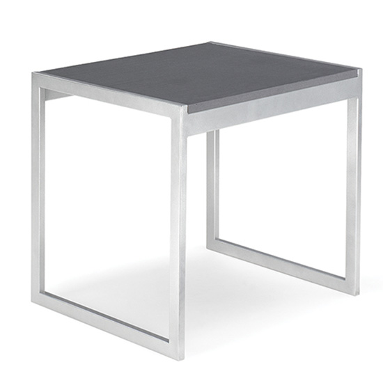 Aria End Table - Charcoal