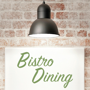 Bistro Dining Event Furnishing Inspiration Theme