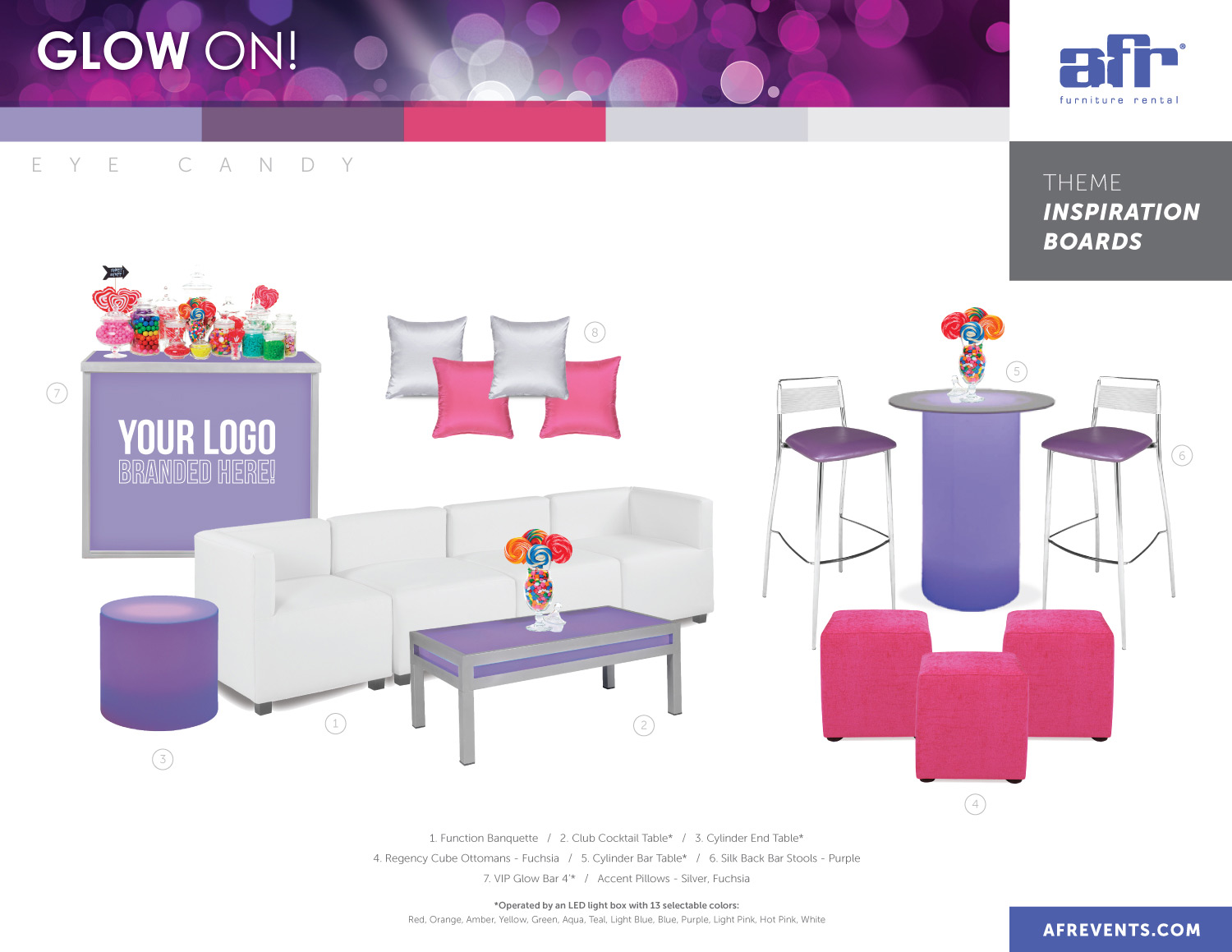 Furnishings special event furnishings · request a