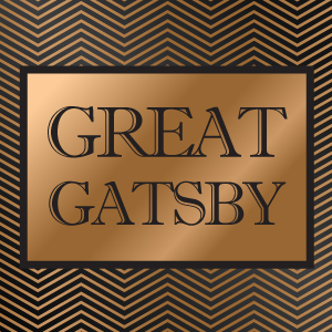 Great Gatsby Event Furnishing Inspiration Theme