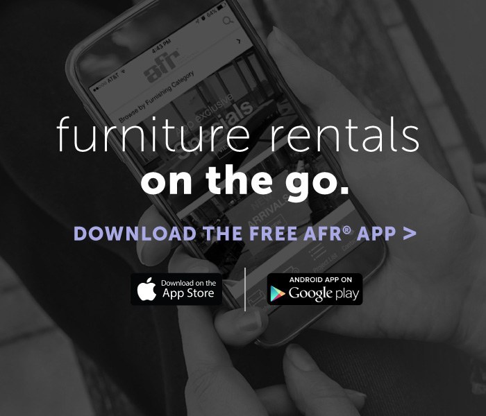 Furniture Rental for Events   AFR Event Rentals