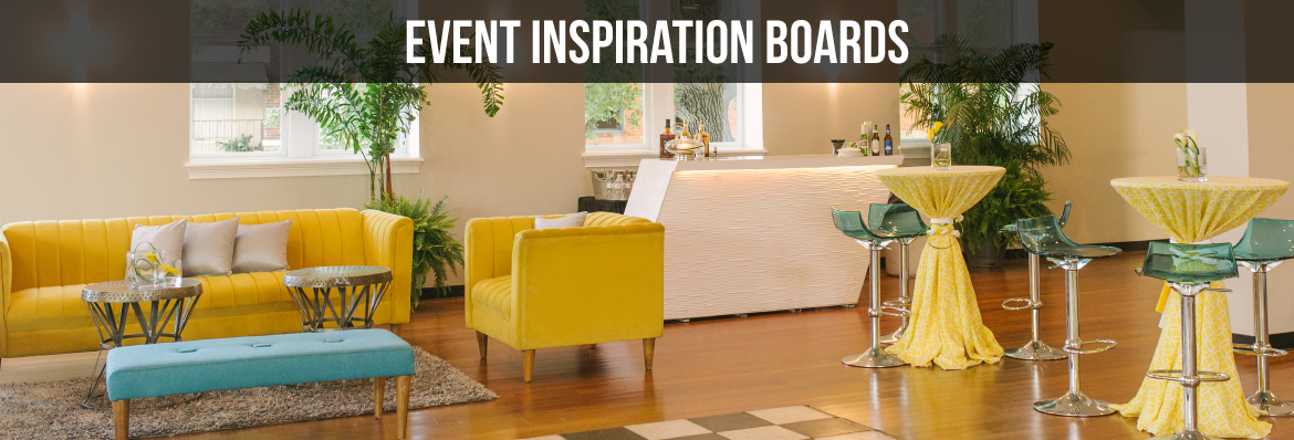 EVENT FURNITURE INSPIRATION BOARDS