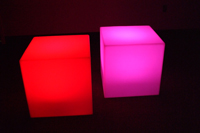 Lighted Cubes Rental